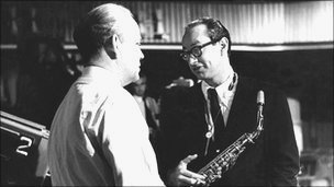 Paul Desmond and Steve Race