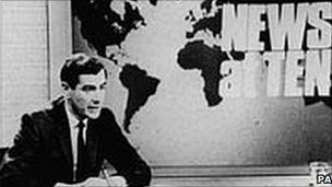Burnet in the early days of News at Ten