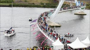 Londonderry's Peace Bridge