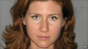 Anna Chapman, one of 10 Russian agents arrested by the FBI