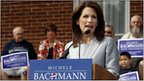 Michele Bachmann speaking in Iowa