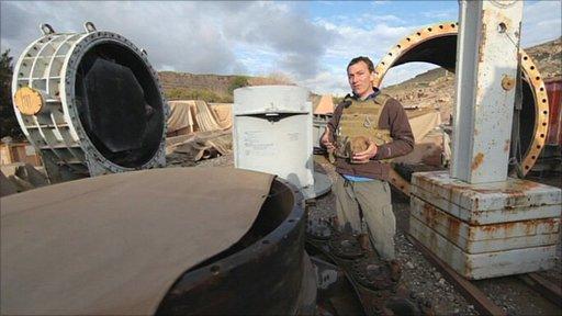 Newsnight's Mark Urban at the Kajaki dam