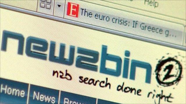 Newzbin logo