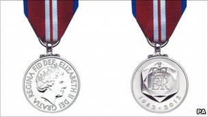 Queen&#039;s Diamond Jubilee medal