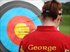 Manx archer Aalin George