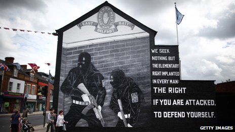 Mural in Belfast