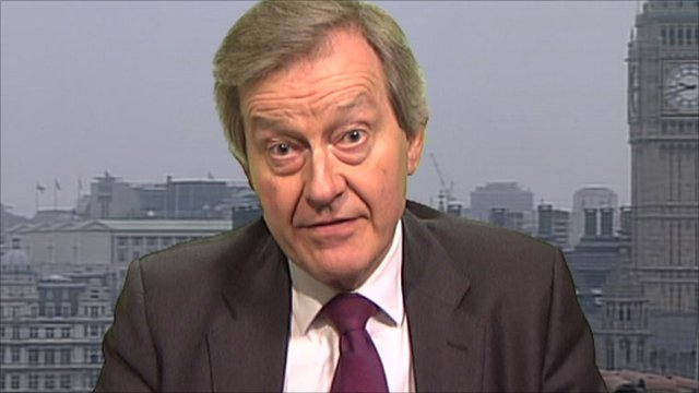 Health select committee chairman, Stephen Dorrell. 