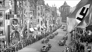 Street scene 10th Nuremburg rally