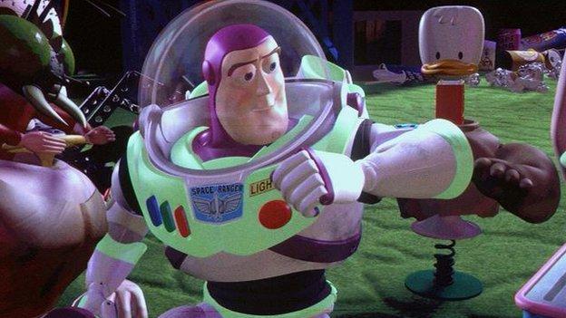 Buzz Lightyear from Toy Story films