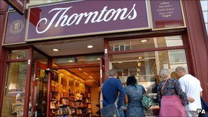 Thorntons store