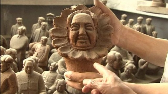 Mao Zedong sculpture