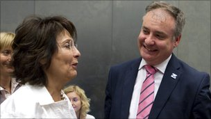 Maria Damanaki and Richard Lochhead