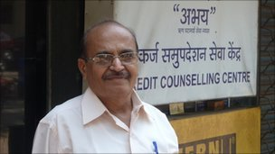 "If the loan agents are doing something wrong, tell the person and the bank they are violating the code of conduct."" N Kulkarni, of the Abhay Debt Counselling Centre in Mumbai"