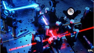 Quantum cryptography laboratory setup