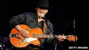 Duane Eddy on stage
