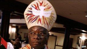 Nigeria's Anglican Archbishop Peter Akinola (archive shot)