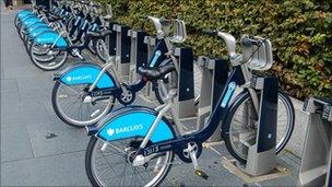 Boris bikes, BBC