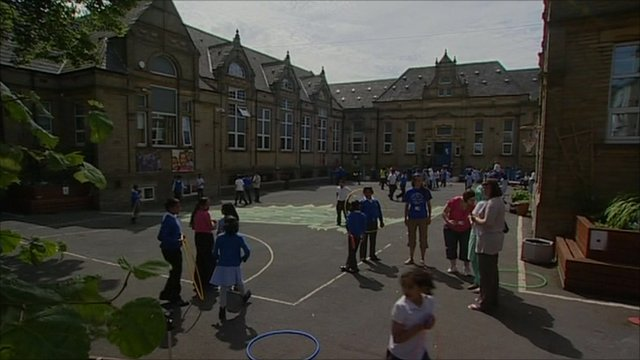 School playground in Halifax