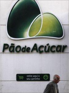 Pao de Acucar supermarket in Sao Paulo