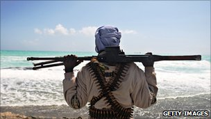 Suspected Somali pirate