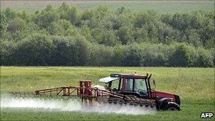 Farming near Rennes, northern France - file pic