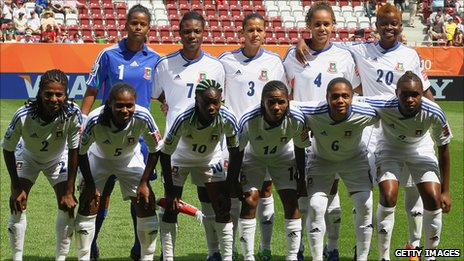 Equatorial Guinea's women's team
