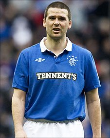 Rangers striker David Healy