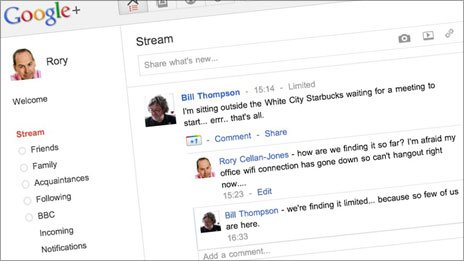 Rory Cellan-Jones's Google+ stream