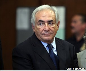 Dominique-Strauss-Kahn in court in New York, 6 June