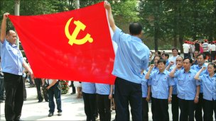 Communist party members