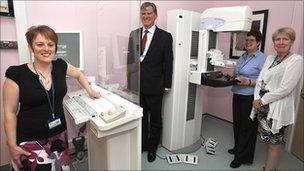 Weston General Hospital's new breast scanner