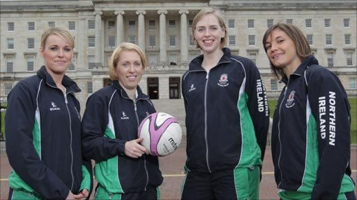 Members of NI netball team
