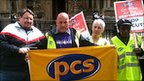 PCS strikers