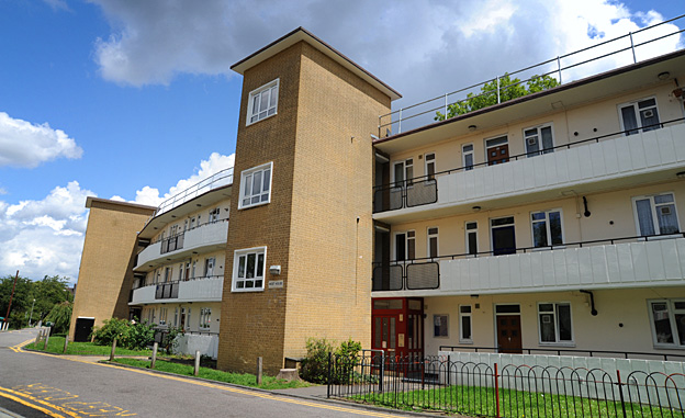 The Weir Estate, Balham, south-west London
