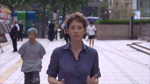 BBC Seoul correspondent Lucy Williamson