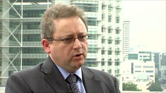 Andrew Martin of law firm Baker & McKenzie