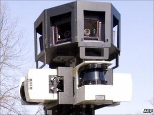 Street View camera, AFP/Getty