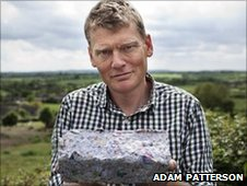 Tom Heap with junk mail log