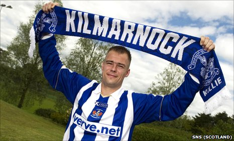 Kilmarnock midfielder Danny Buijs