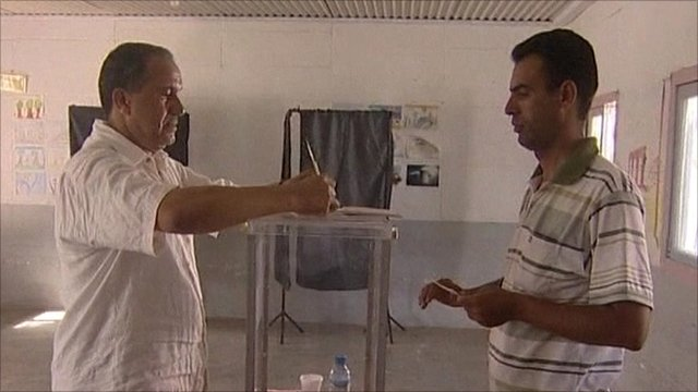 Moroccan voting in referendum