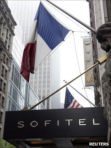Sofitel New York, file pic