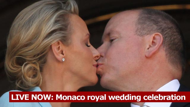 Prince Albert II of Monaco to South African and former swimmer Charlene