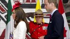 The Duke and Duchess of Cambridge arrive at a citizenship ceremony in Gatineau, Quebec