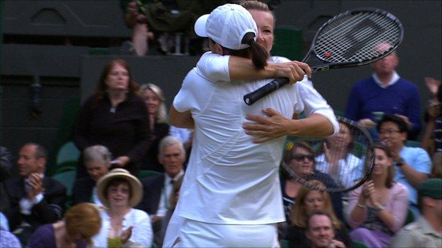 Peschke and Srebotnik win women's doubles title