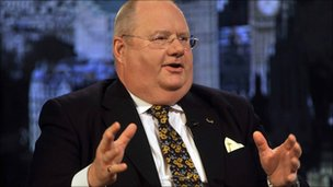 Communities' Secretary Eric Pickles