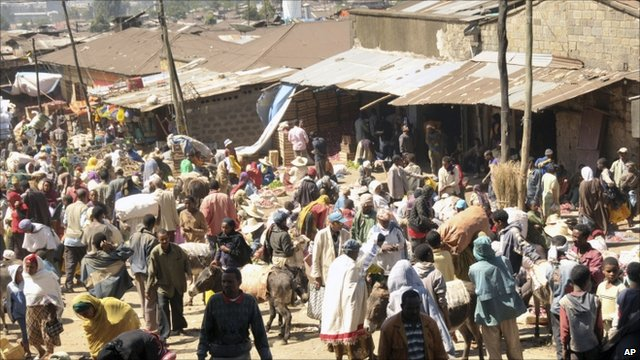 Market in Addis Ababa