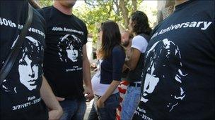 Jim Morrison fans