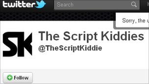 Script Kiddies account