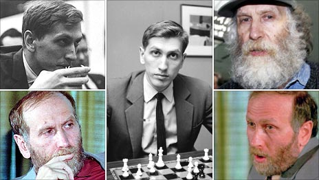 Bobby Fischer (AP and Getty Images)