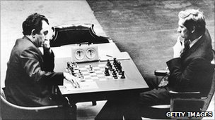Tigran Petrosian takes on Fischer